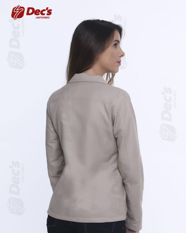 jaqueta clássica feminina
