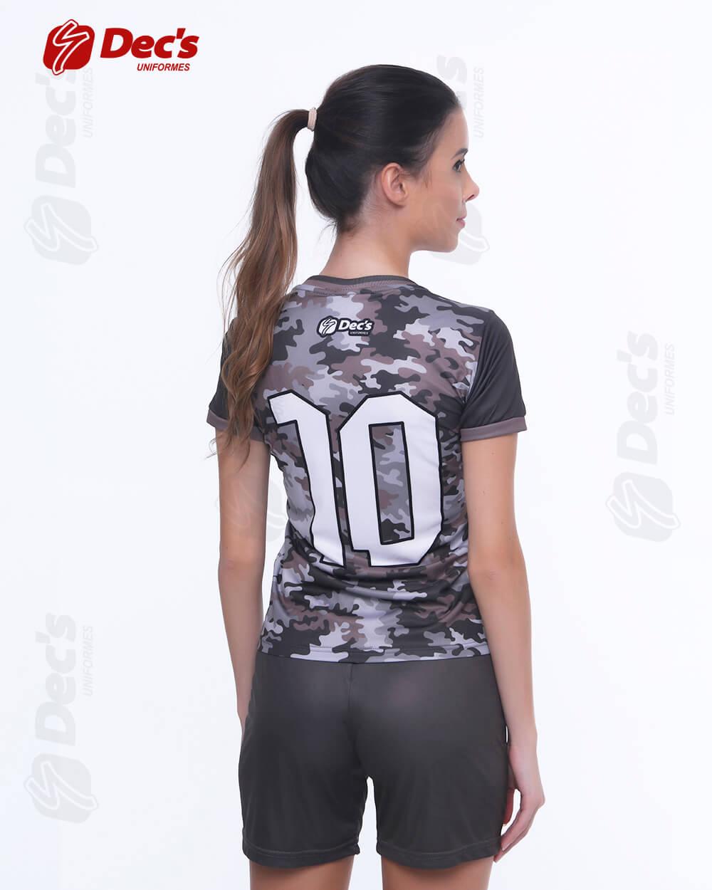 8376092016 conjunto dry em estampa digital. uniforme esportivo